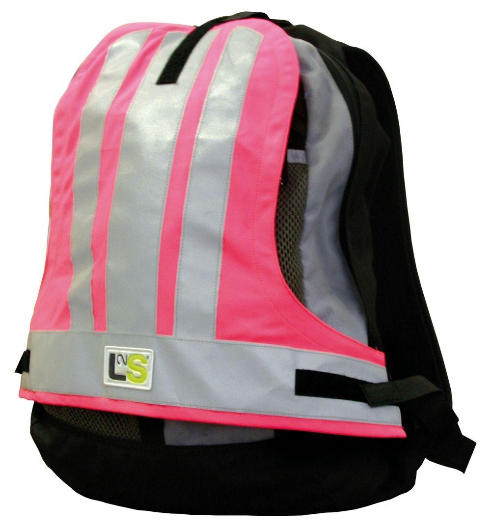 Couvre-sac sécurité L2S Visiobag Rose fluorescent
