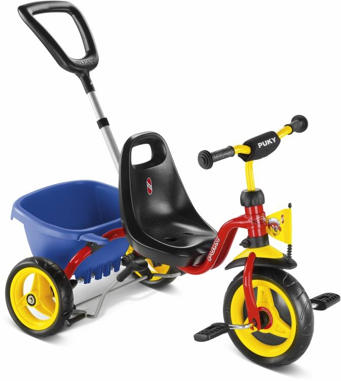 Tricycle Puky CAT 1S 2 ans Rouge