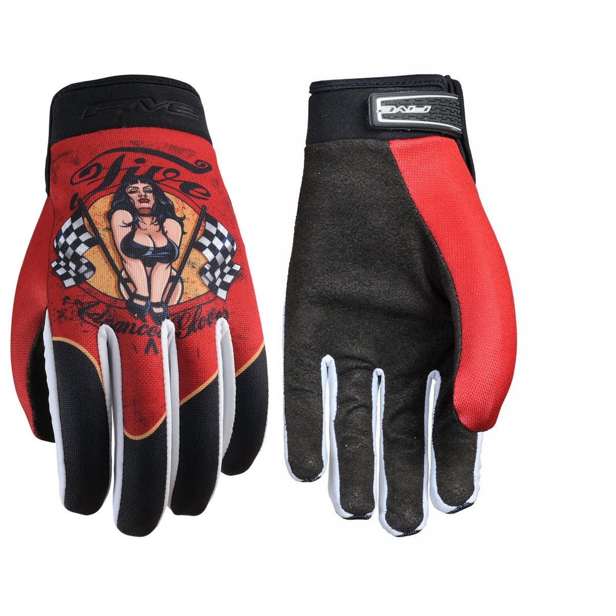 Gants Five Planet Fashion Pinup - XXL