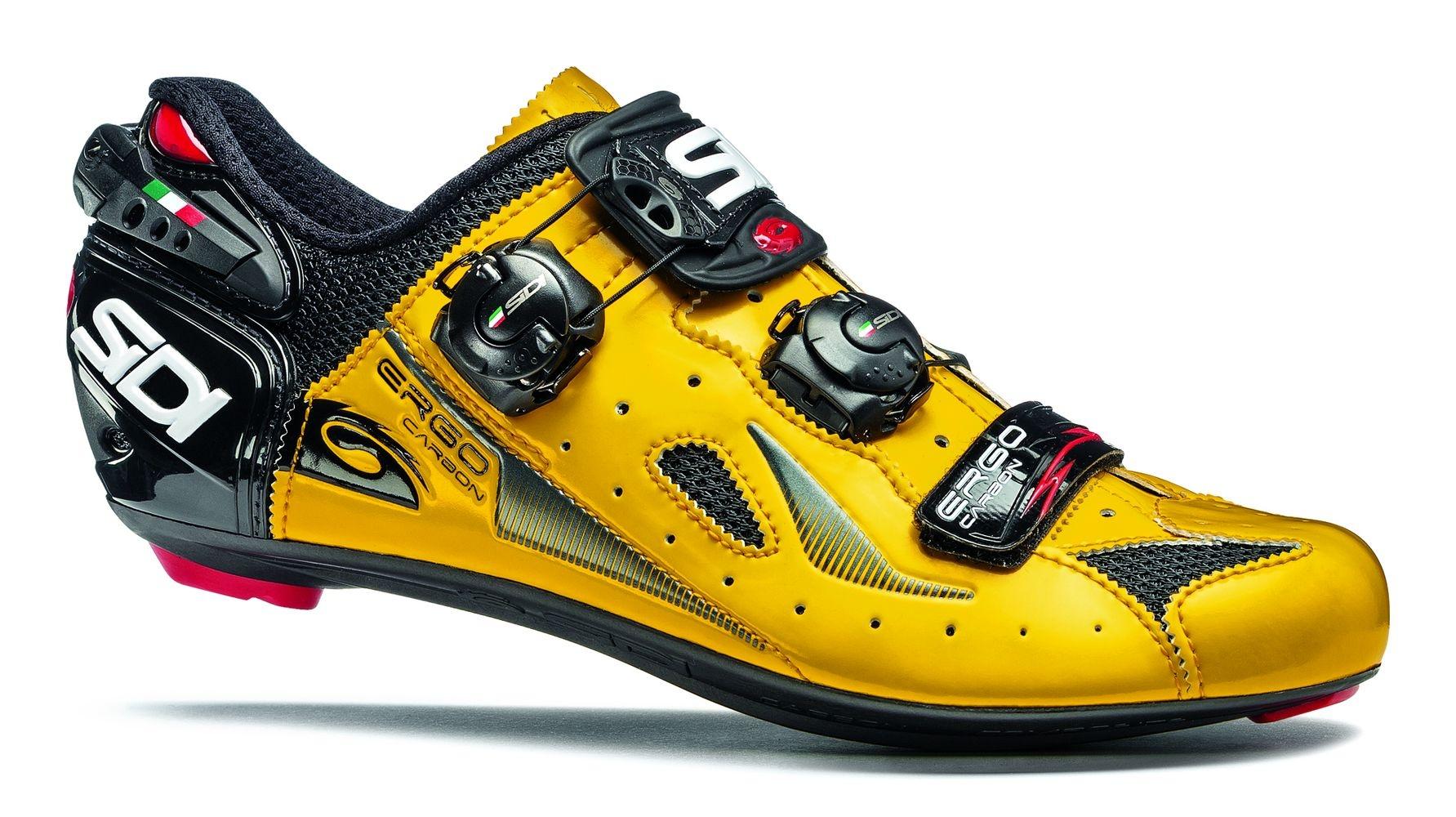 Chaussures Sidi ERGO 4 Carbon Composite Jaune/Noir - 42