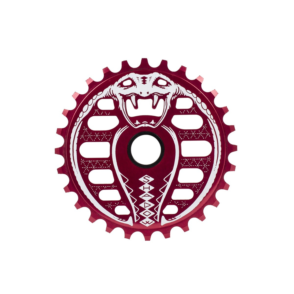 Couronne BMX TSC Kobra Sprocket 25 dts Rouge Crimson