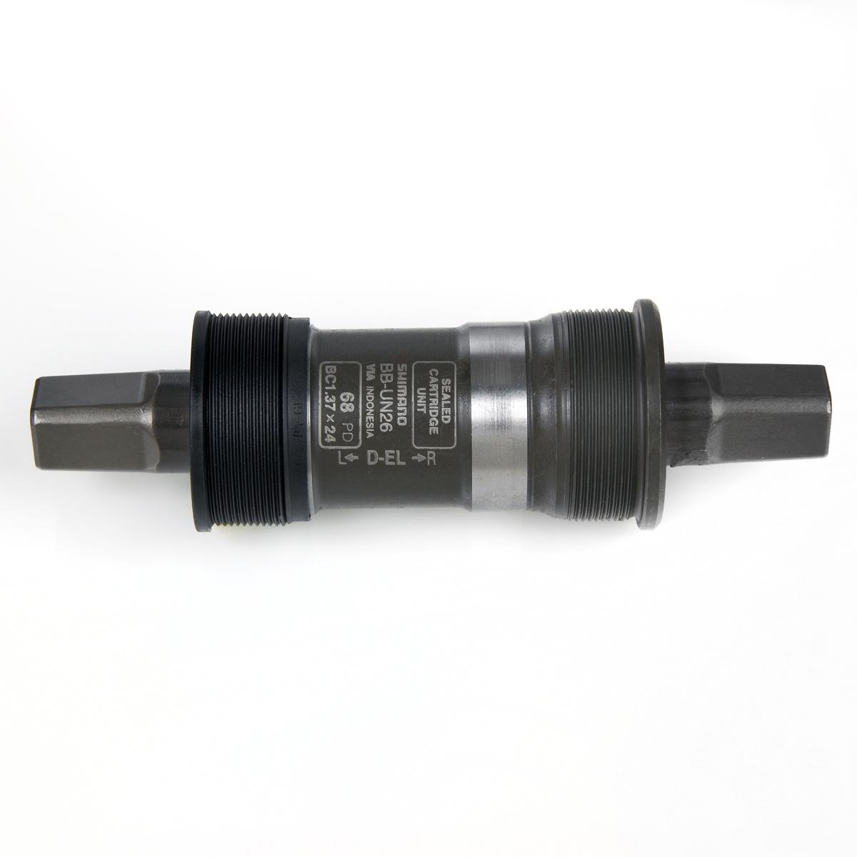 Boîtier de pédalier Shimano UN26 Carré BSA 68 x 127,5 mm