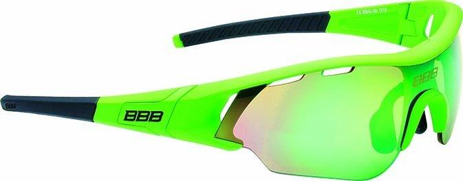 Lunettes BBB Summit Vert mat, logo vert, verres verts 5015 - BSG-50