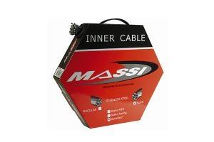 Câble de dérailleur Massi Inox 1.1x2000 mm (x50)