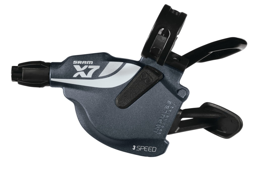 Trigger avant SRAM X7 3V gris