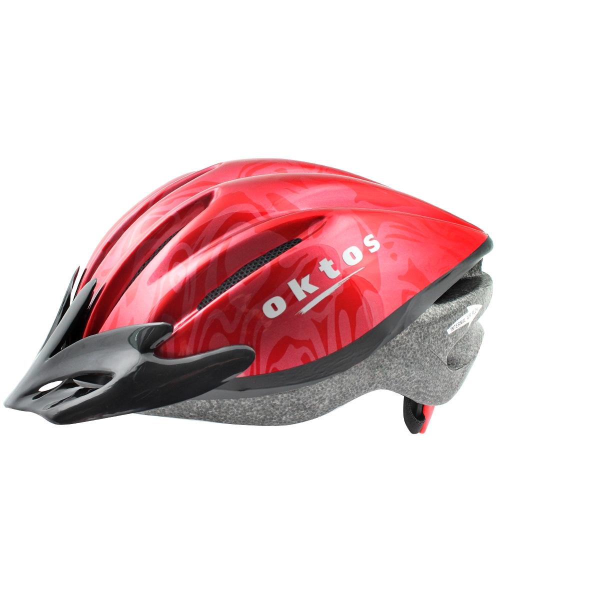 Casque vélo Adulte Oktos V16 Rouge - XL
