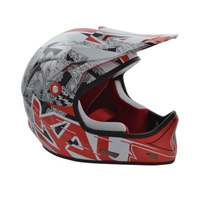 Casque Kali Protectives Avatar X Carbon Galaxy Noir/Rouge - M (57-58)