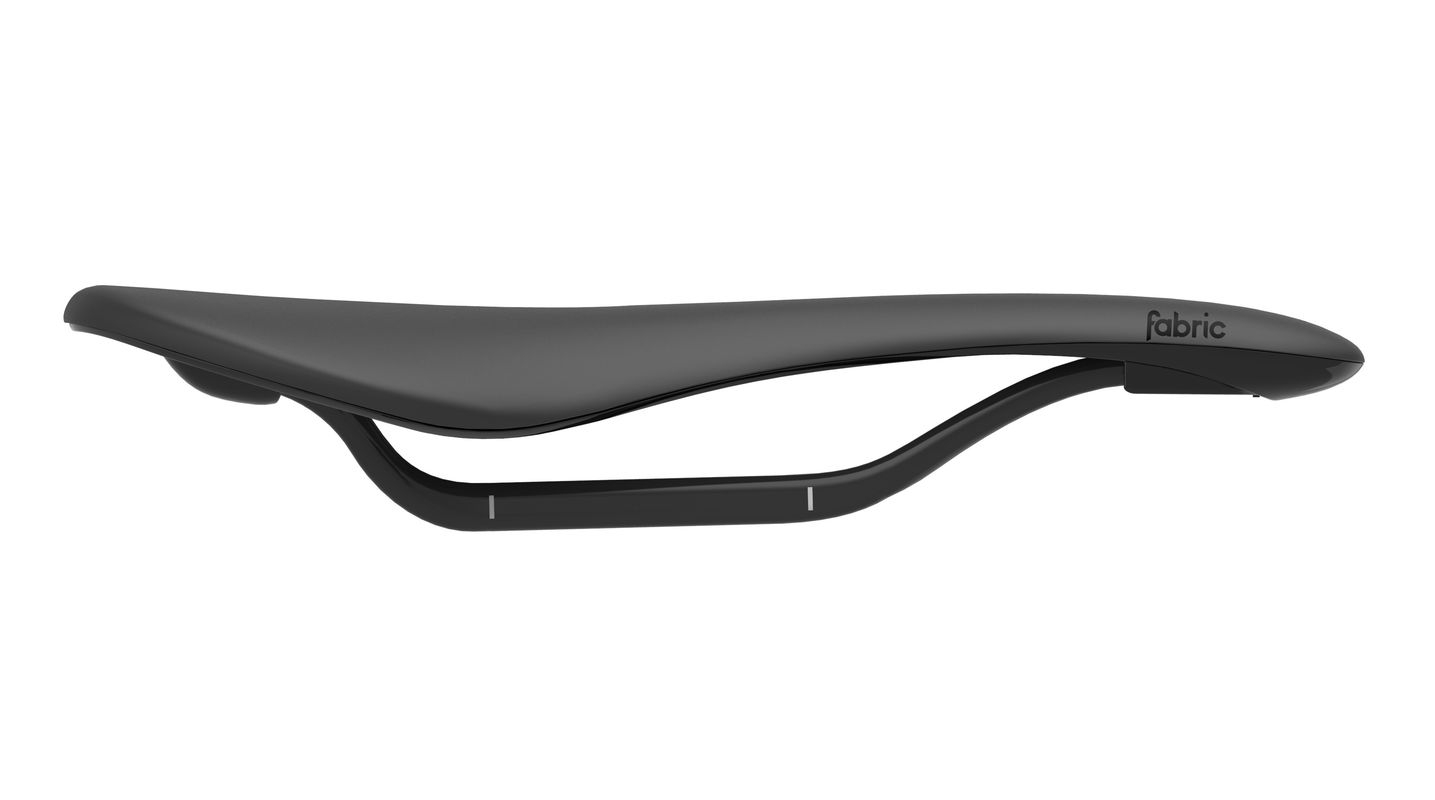 Selle Fabric Scoop Flat Pro 142 mm Noir/Noir
