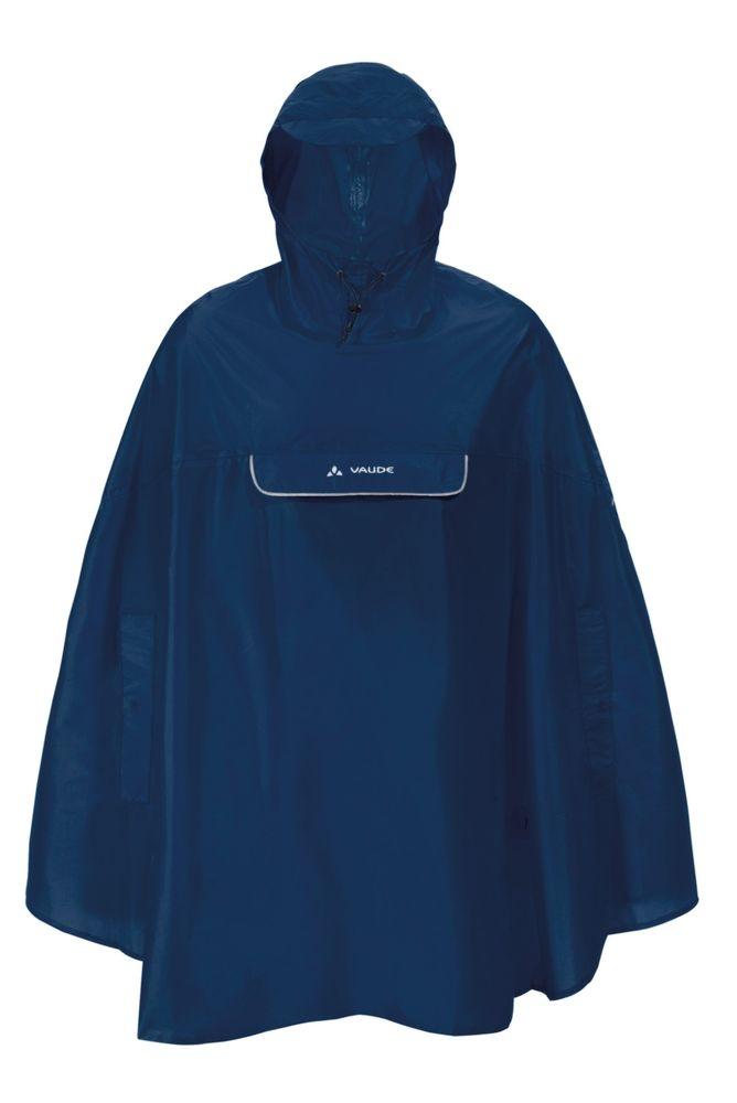 Poncho imperméable Vaude Valdipino Bleu Marine - S