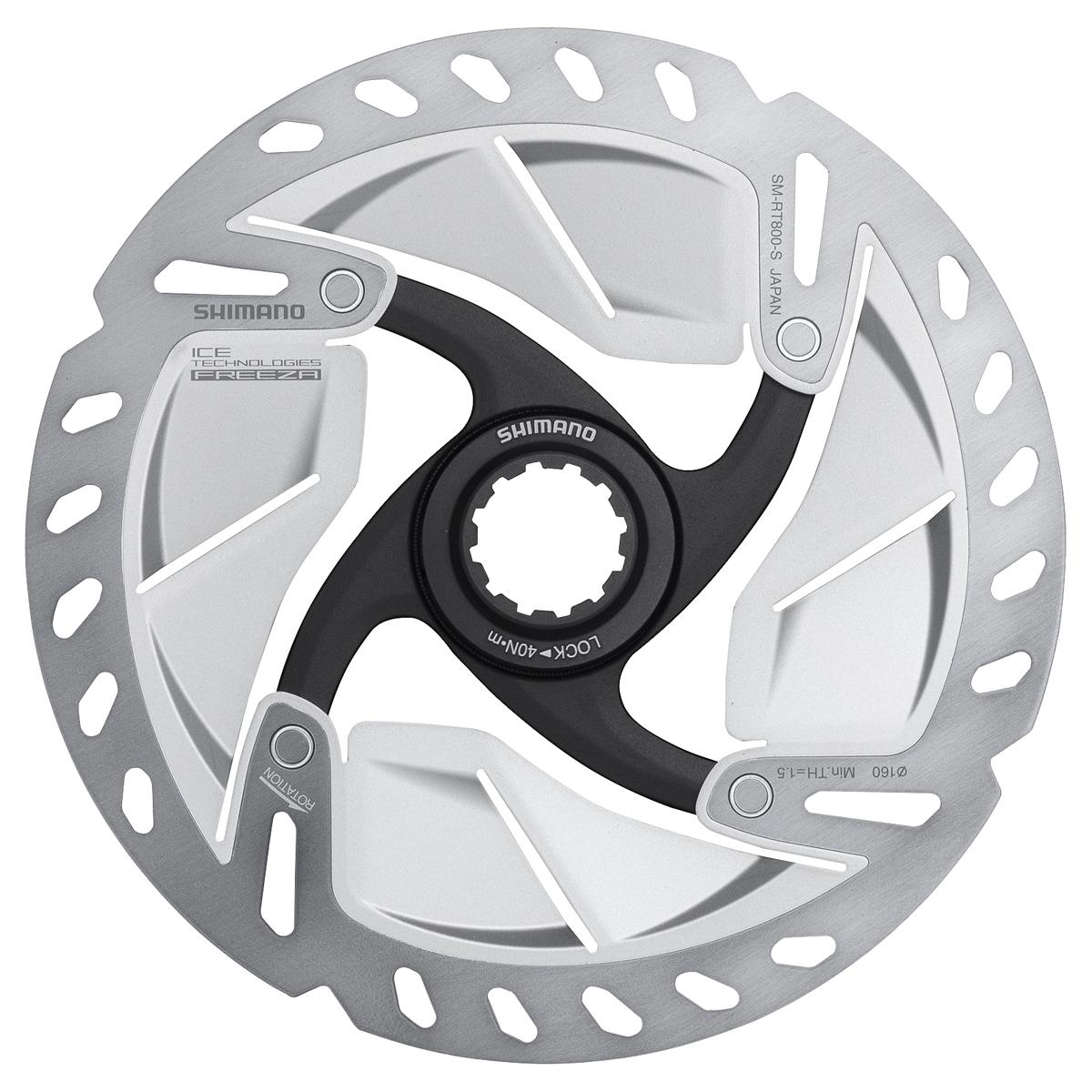 Disque de frein route Shimano SM-RT 800S Ice Tech Freeza 140 mm Centerlock