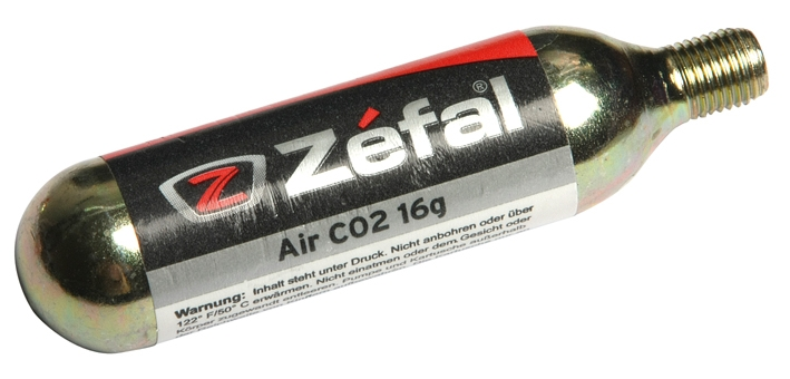 Cartouche CO2 Zéfal filetée 16 grammes