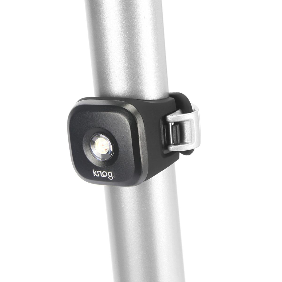 Éclairage arrière Knog Blinder Standard 1 LED - Argent