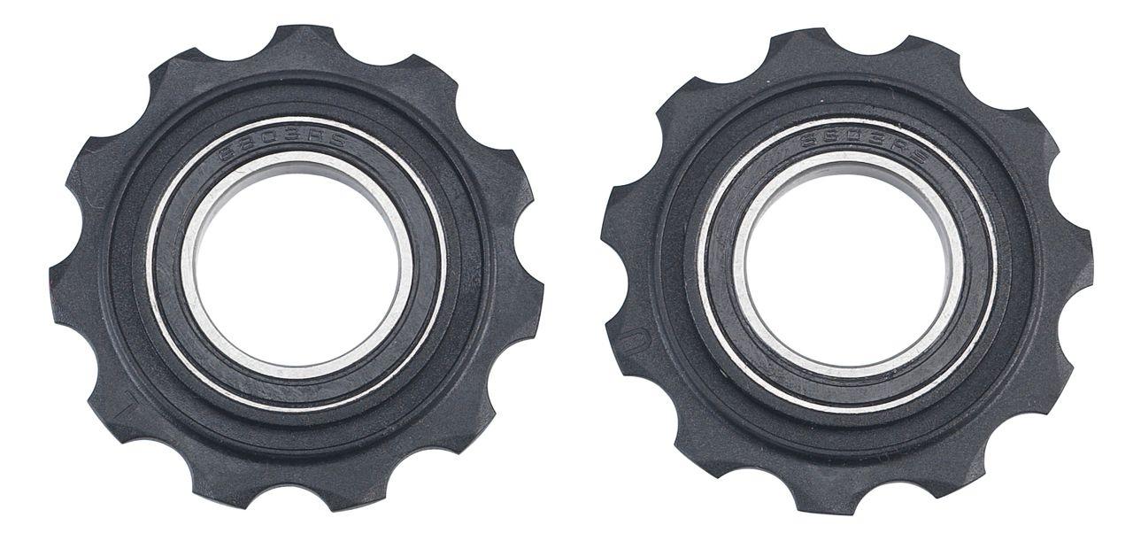 Galets de dérailleur BBB RollerBoys 11 dents compatible SRAM (noir) - BDP-05