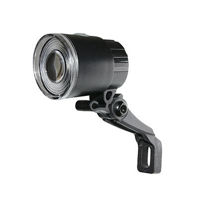 Éclairage AV SB2 1 LED à piles sur fourche Noir