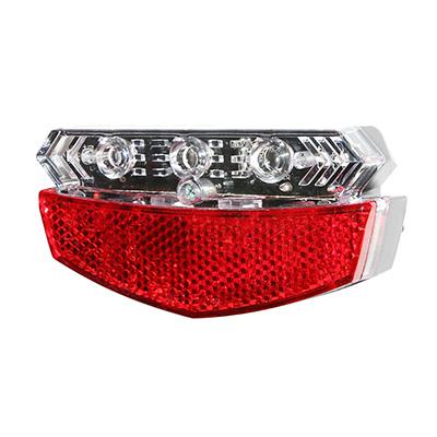 Éclairage AR Newton Reflector 5 LEDs Indicateur de direction fix. porte-bagages à piles