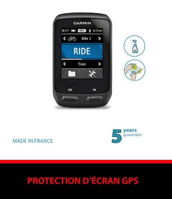 Film de protection ClearProtect pour GPS Garmin Edge 510