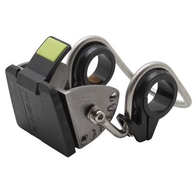 Fixation-attache panier AV BASIL BasEasy System en acier Sur cintre 25.4 à 31,8 mm