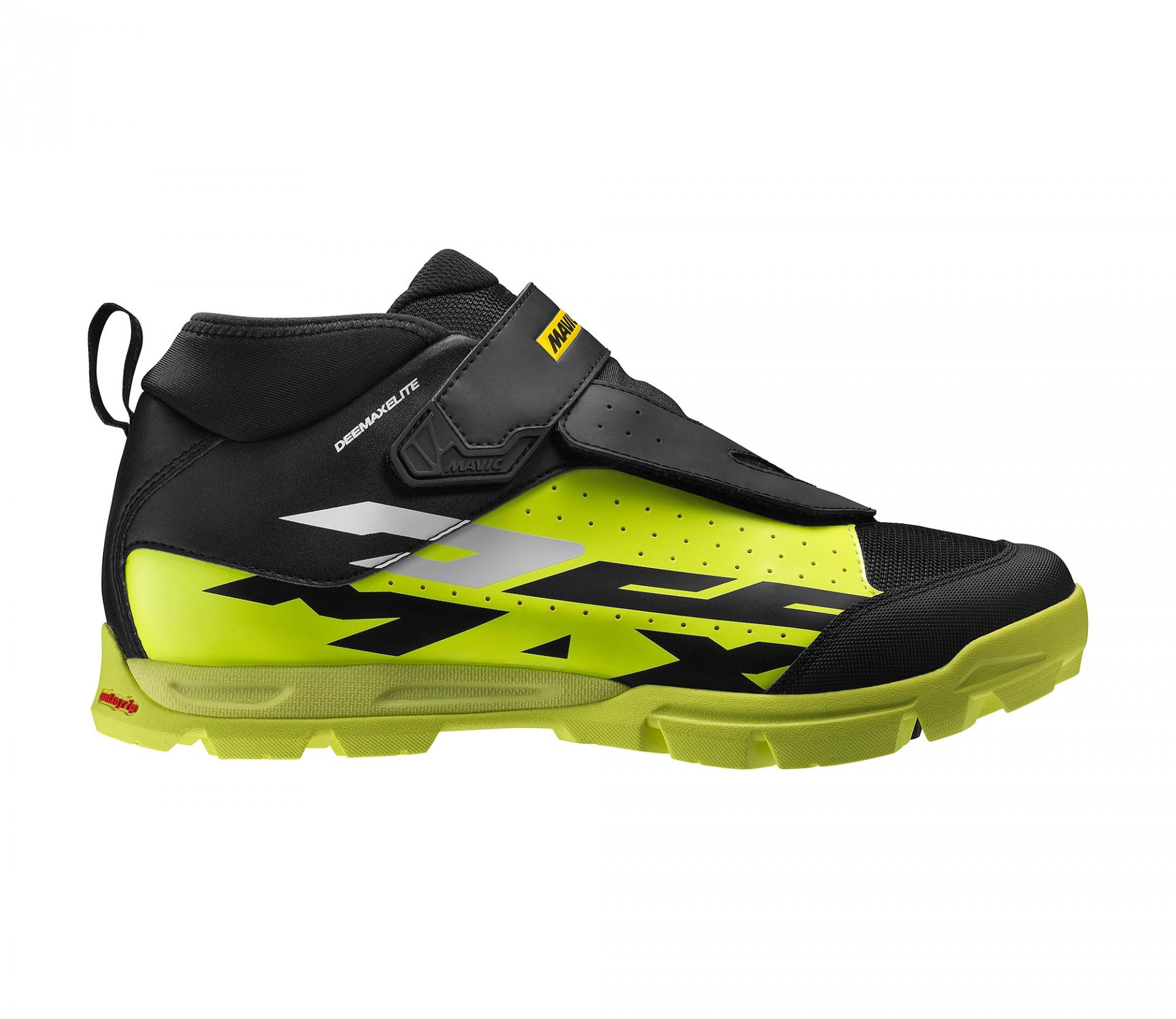 Chaussures VTT Mavic Deemax Elite Noir/Jaune fluo - 44