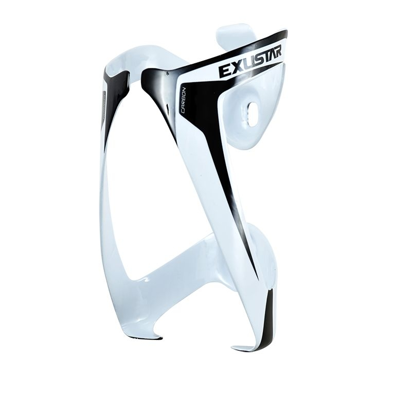 Porte-bidon carbon Exustar BC51 Blanc