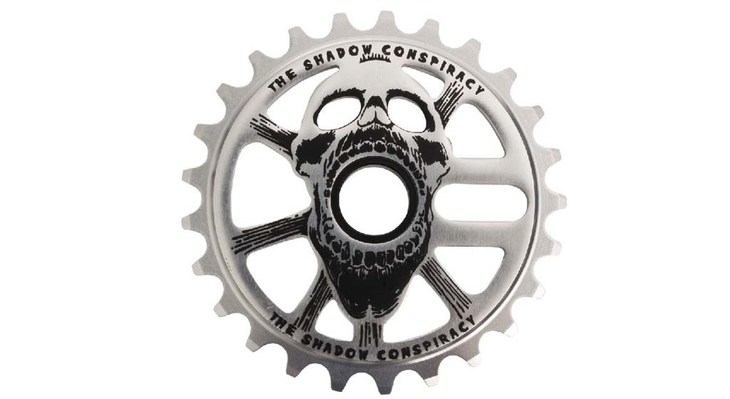 Couronne TSC Scream Sprocket 28 dents Raw Polish