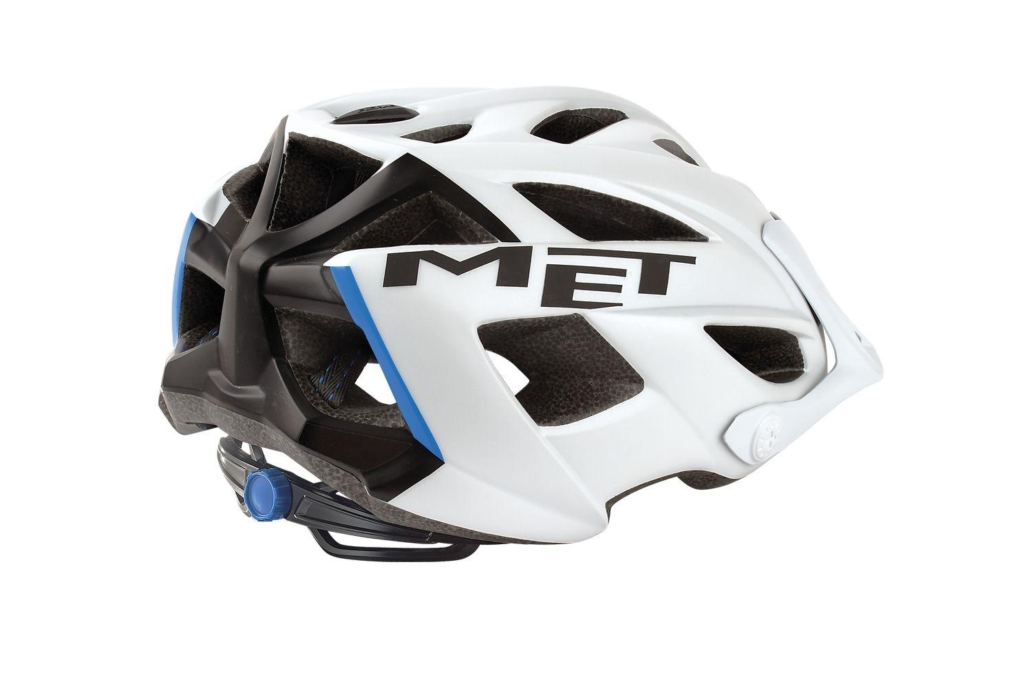 Casque MET Terra Safe-T Duo Blanc/Noir mat