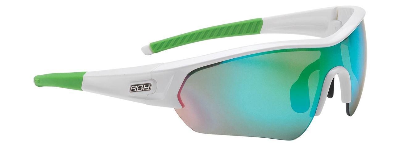 Lunettes BBB Select verre vert Revo (blanc/vert) - BSG-4375