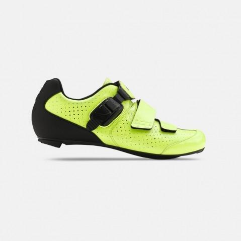 Chaussures route Giro Trans E70 Jaune Fluo/Noir - 42