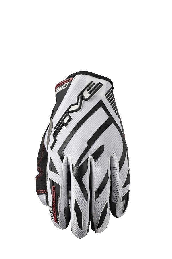 Gants cross Five MXF PRORIDER S blanc - M