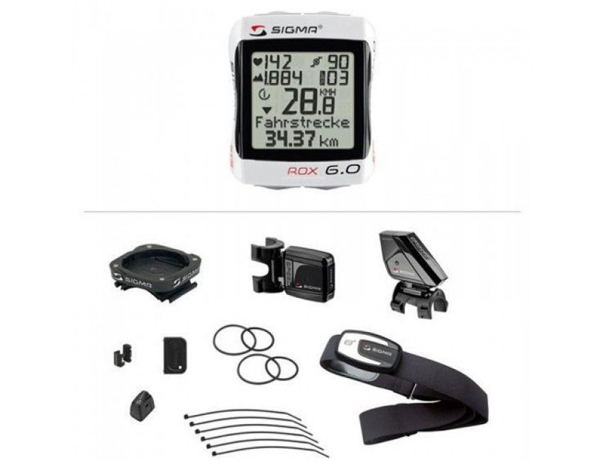 Compteur cardio-fréquencemètre Sigma Rox 6.0 + Cadence