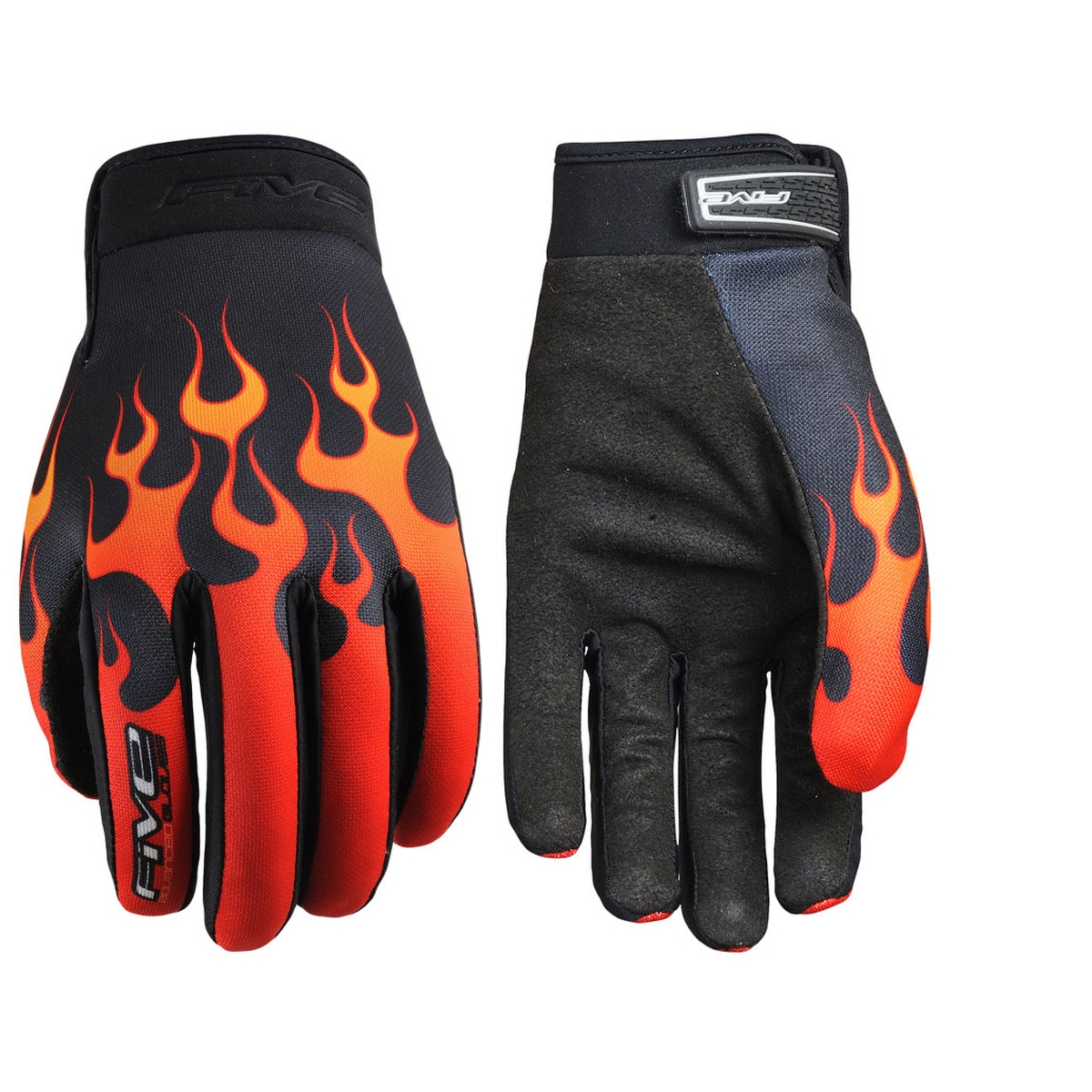 Gants Five Planet Fashion Flammes - S