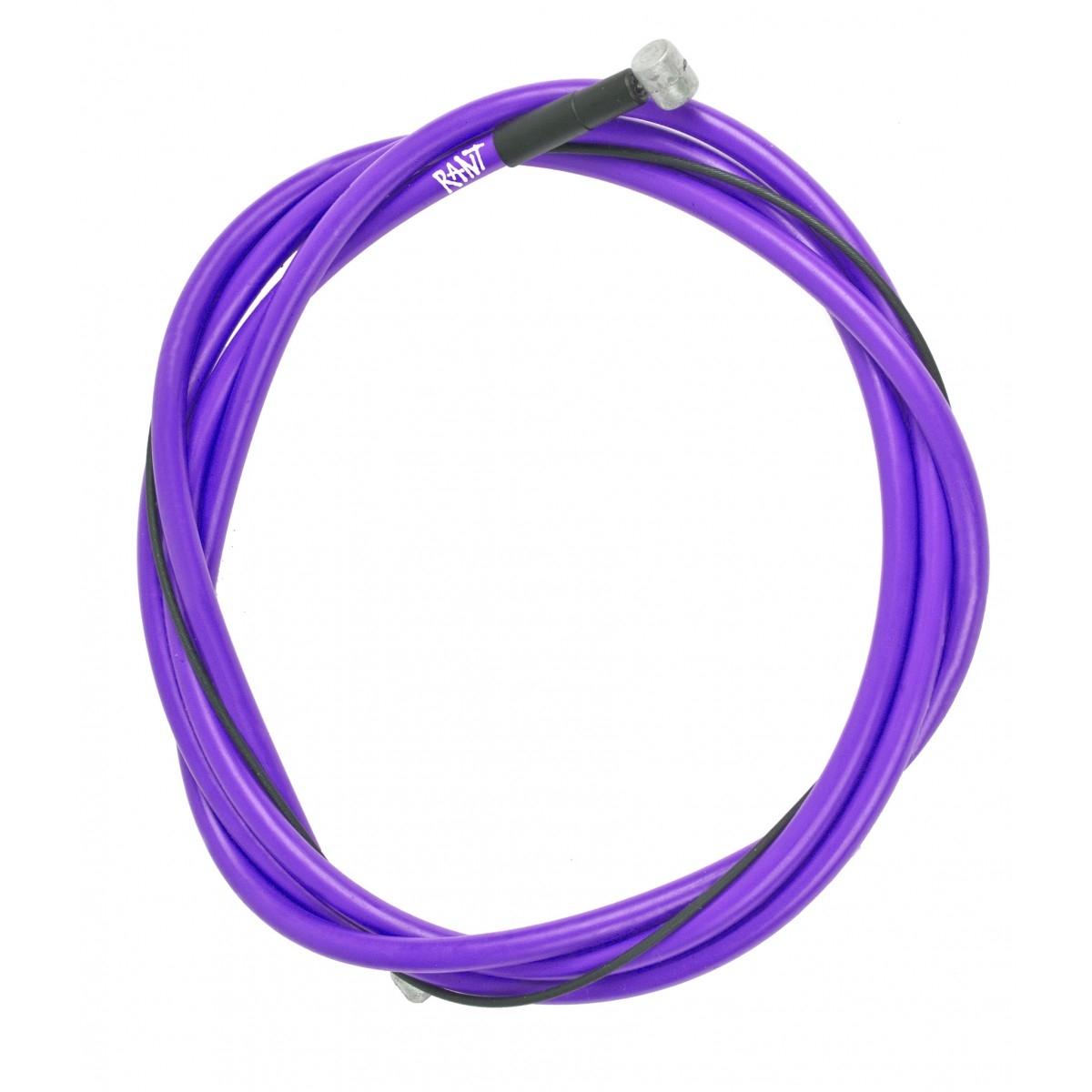 Câble au teflon et gaine de frein BMX Rant Spring Brake Linear Violet