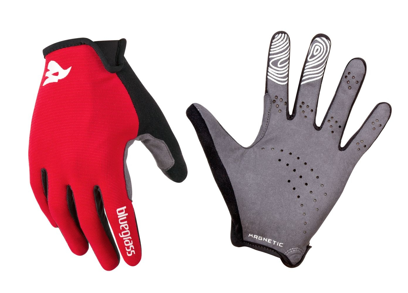Gants Bluegrass Magnete Lite Rouge/Blanc - M