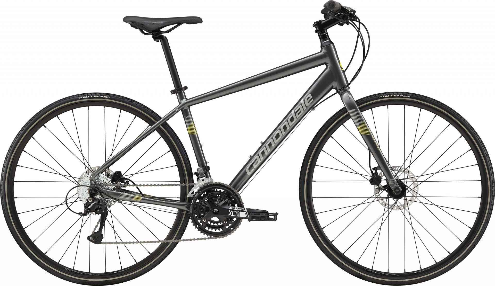 Vélo fitness Cannondale Quick Disc 5 Anthracite/Gris - M