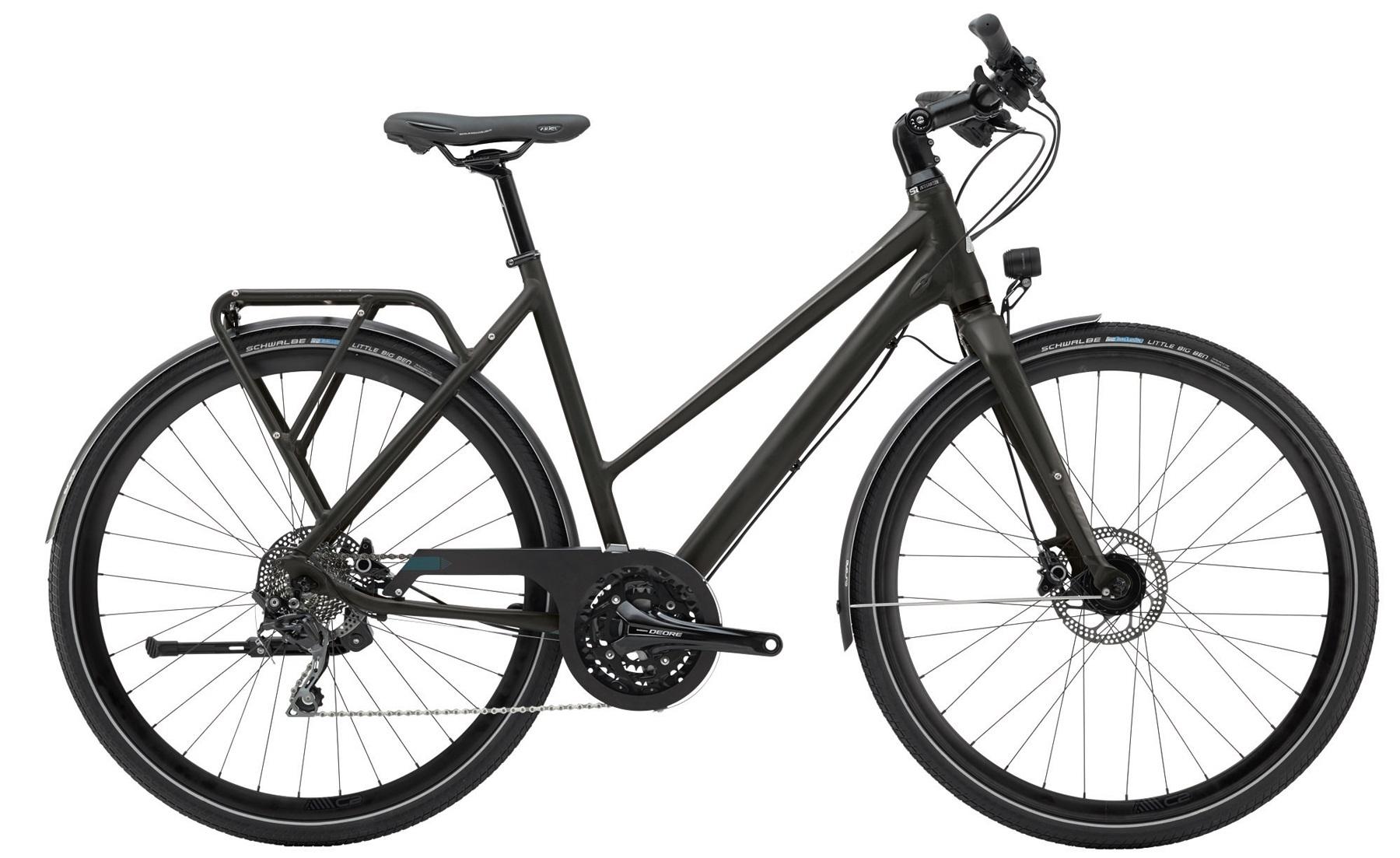Vélo urbain / trekking Cannondale Tesoro Mixte 2 Noir - 48