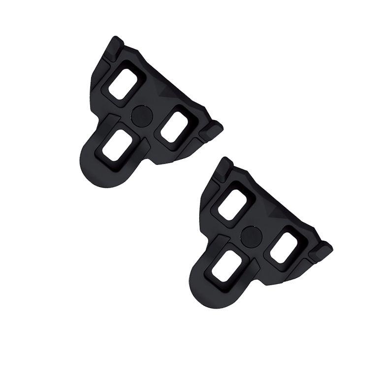 Cales route Exustar compatible Shimano SPD-SL 0 Noir (La paire)