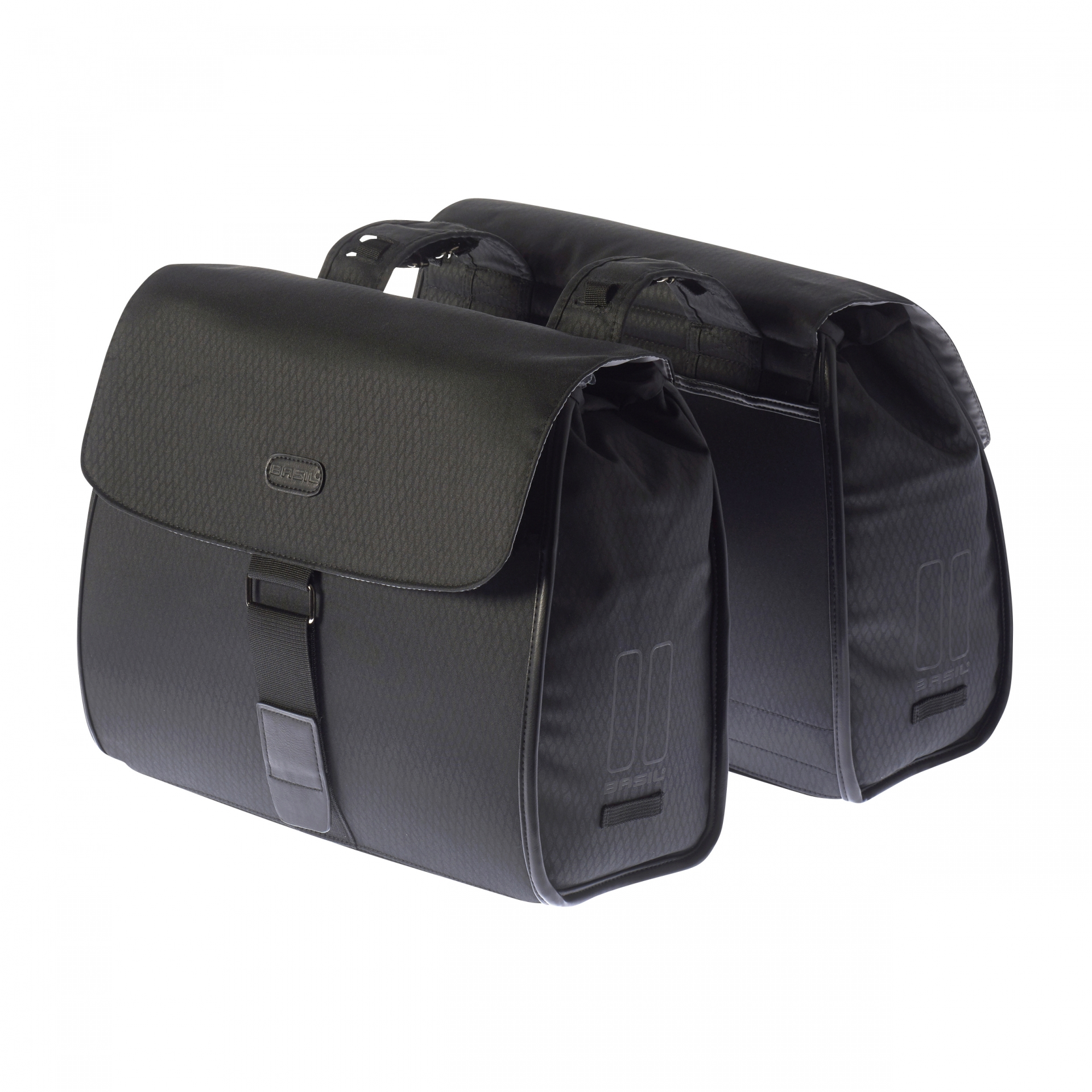 Sacoche arrière double BASIL 38 L Noir