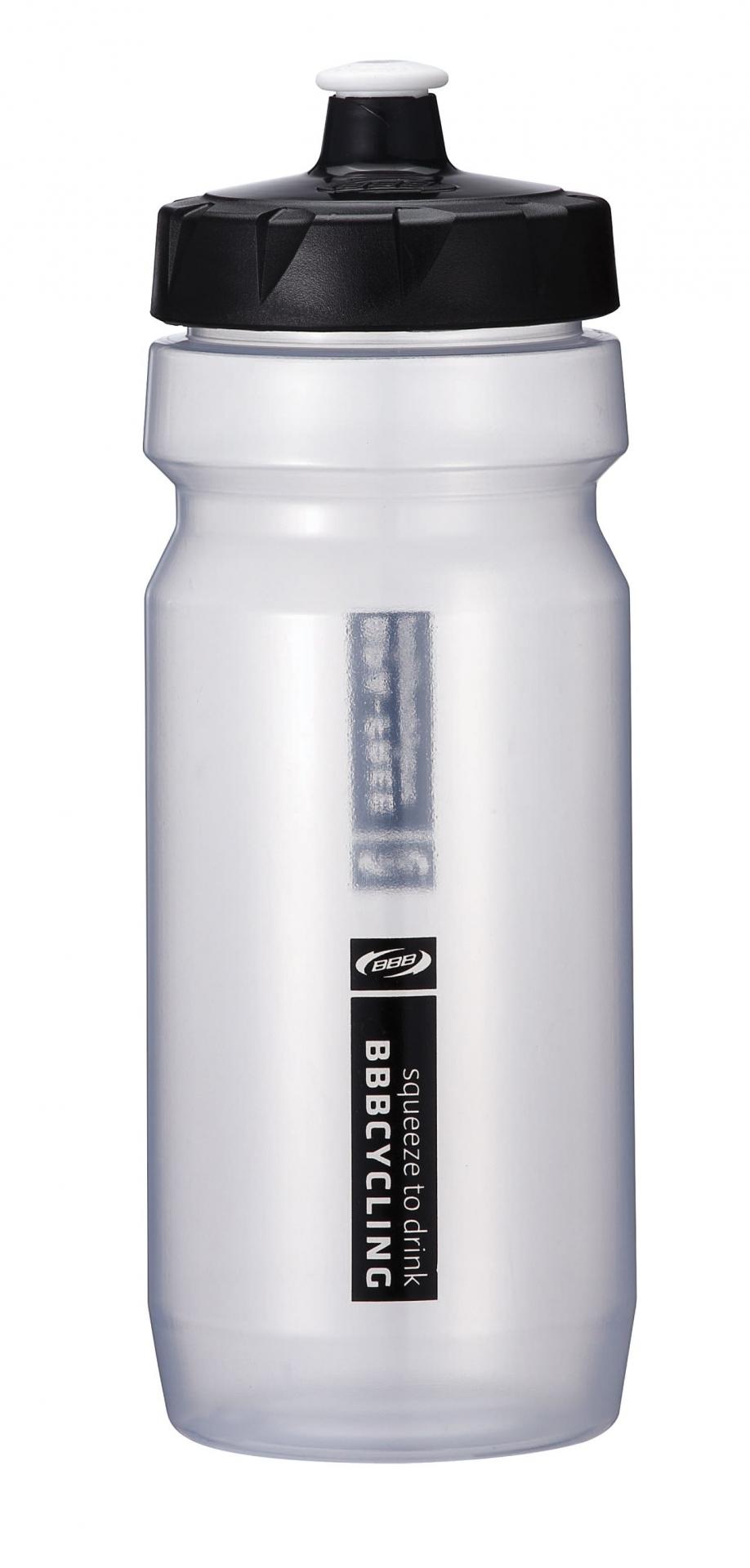 Bidon BBB CompTank 550 ml Transparent/Noir - BWB-01