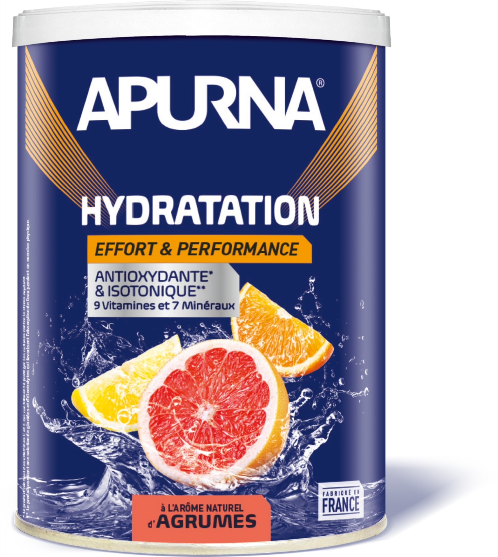 Boisson hydratation Apurna énergie Agrumes 500 g