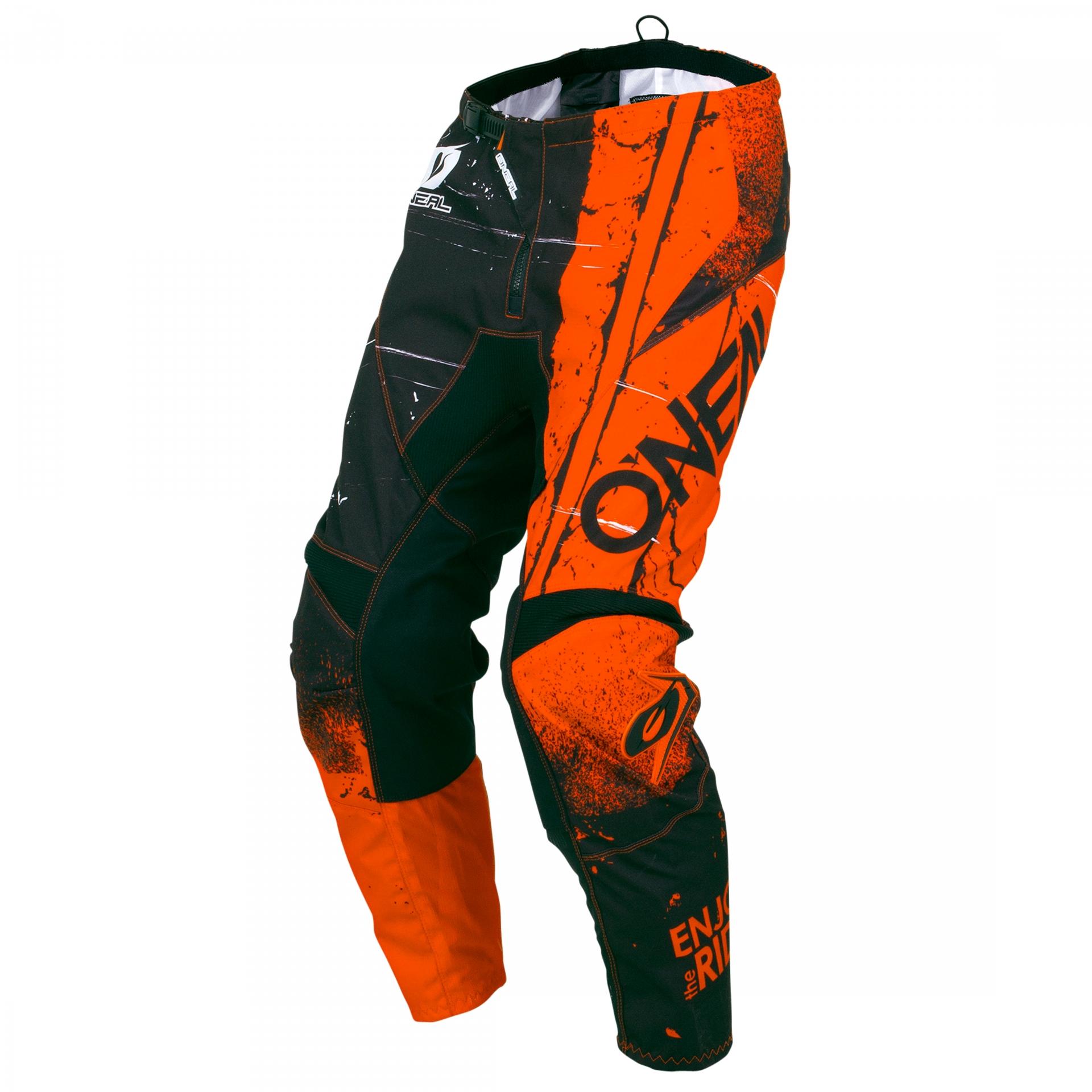 Pantalon MX O'Neal Element Shred Orange - 28