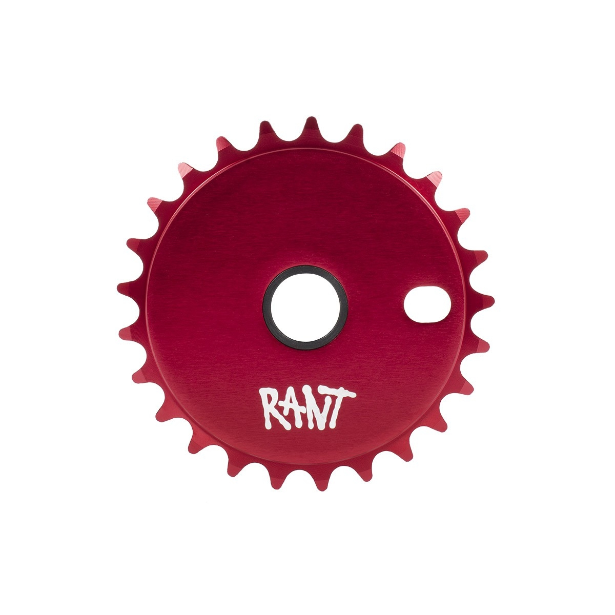 Couronne BMX Rant Stick'Em Sprocket 25 dts Rouge