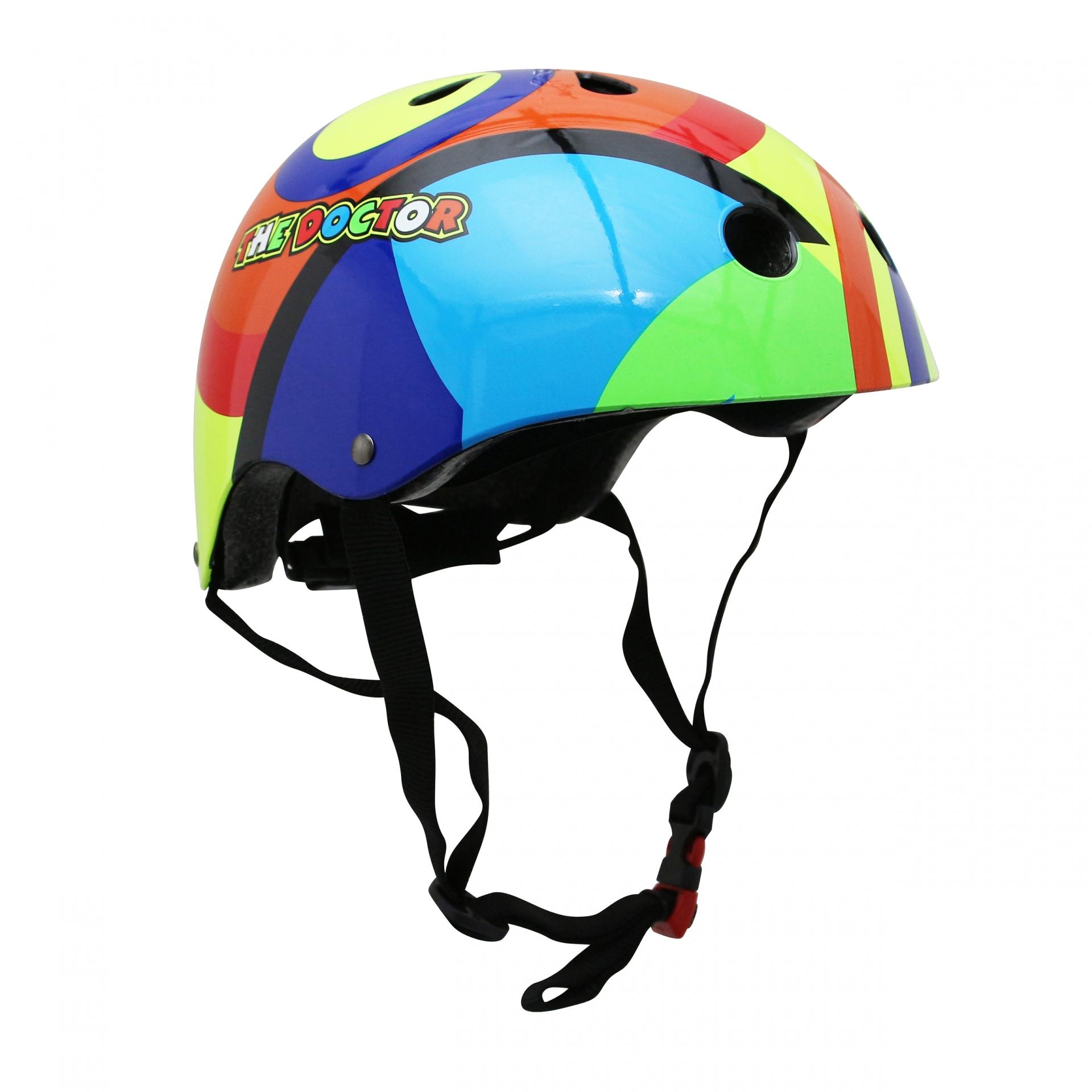 Casque vélo enfant Kiddimoto Valentino Rossi multicolor - S (48-53 cm)