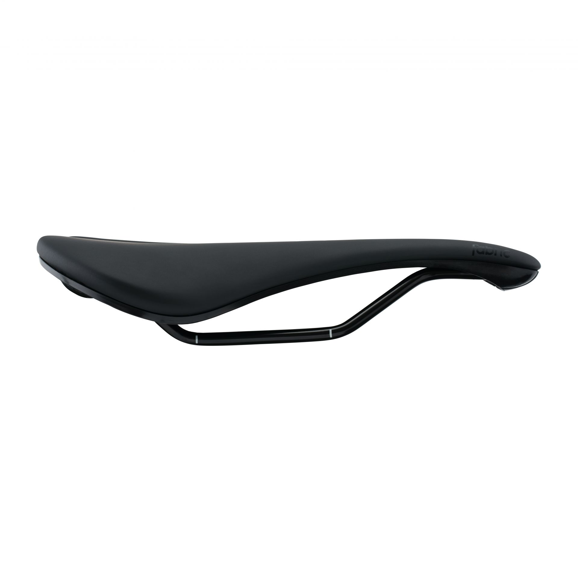 Selle Fabric Line Shallow Elite 134 mm Noir/Noir