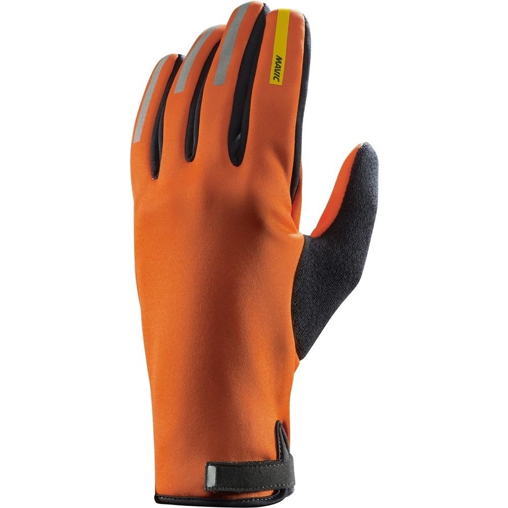 Gants longs Mavic Aksium Thermo George Orange-X/Noir - M