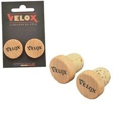 Bouchons de cintre vintage VELOX Liège/Bois (la paire)