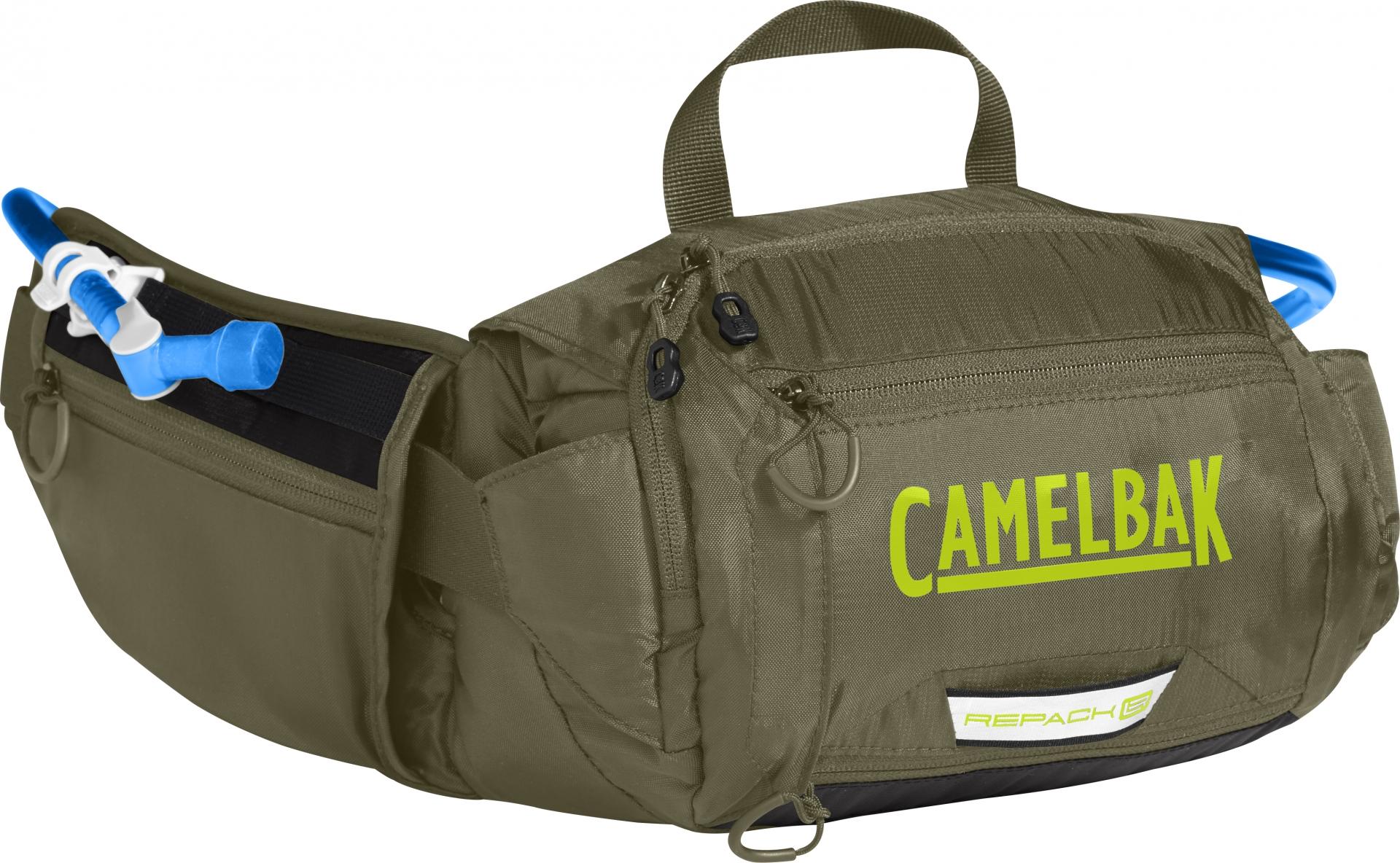 Ceinture dhydratation CamelBak Repack LR 4 2,5 L Vert Olive Burnt/Lime