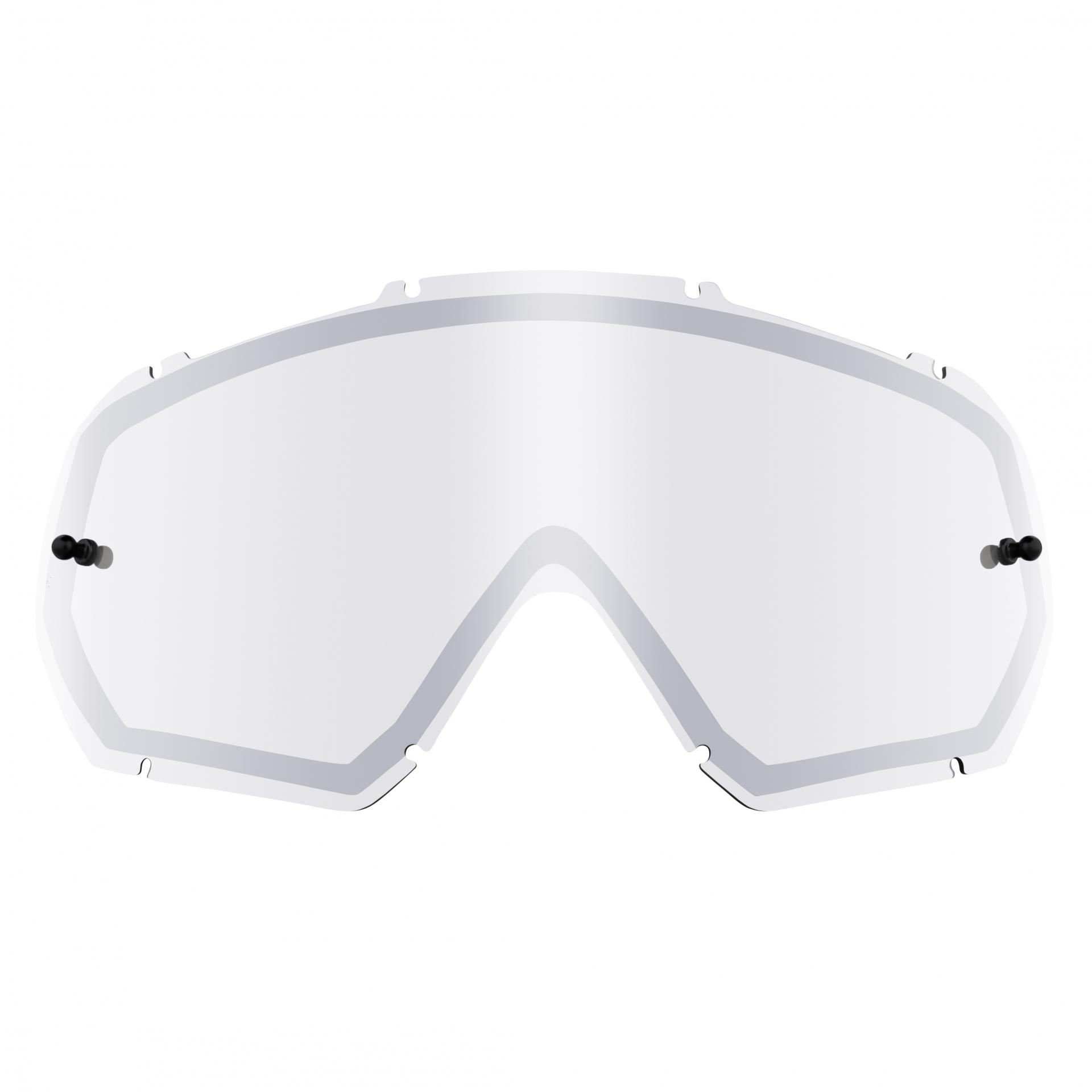 Écran O'Neal pour masque B-10 Goggle Spare Double Lens Silver Mirror