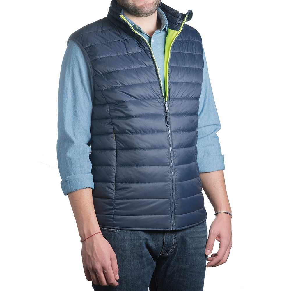 Gilet Tucano Switch Bleu/Jaune fluo - XL