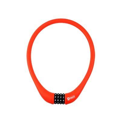 Antivol Rangers Câble à Code D.15 x 0.75 m 100 % Silicone Rouge