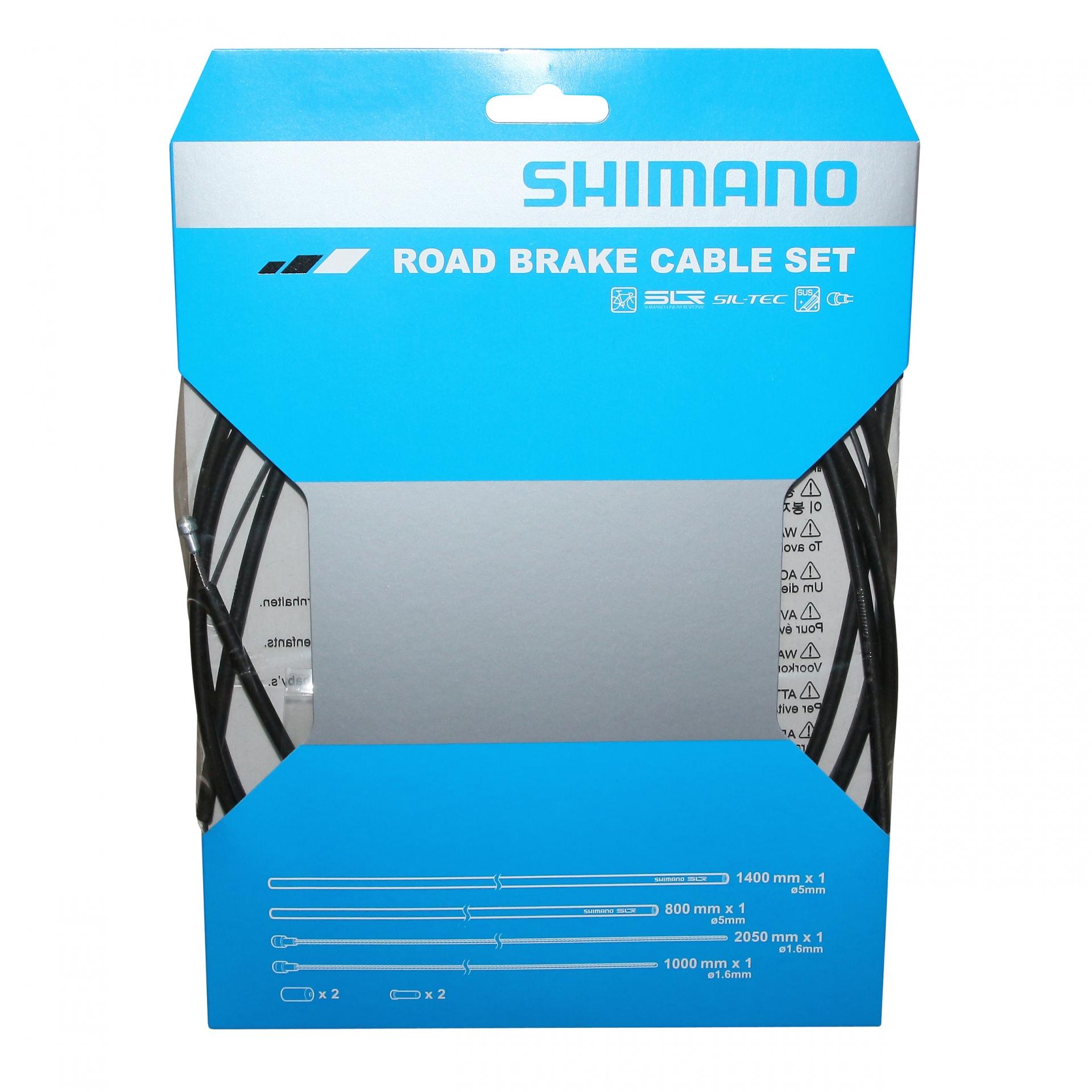 Kit câbles et gaine de frein Shimano Teflon Noir