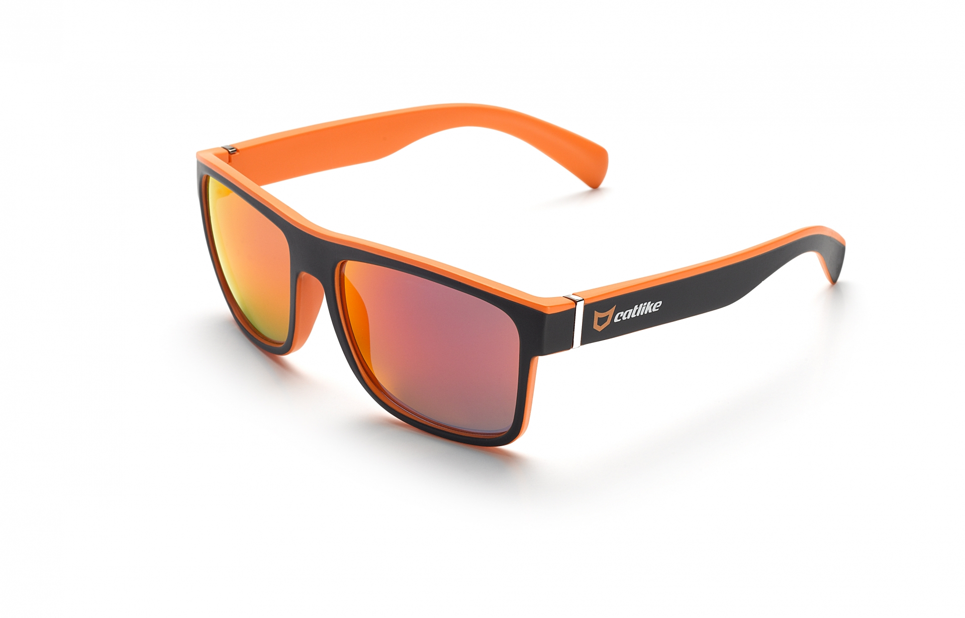 Lunettes Catlike Orange Key Noir/Orange